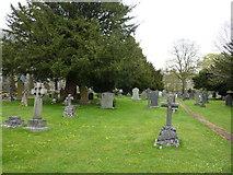 SD5095 : St Oswald's Church, Burneside, Graveyard by Alexander P Kapp