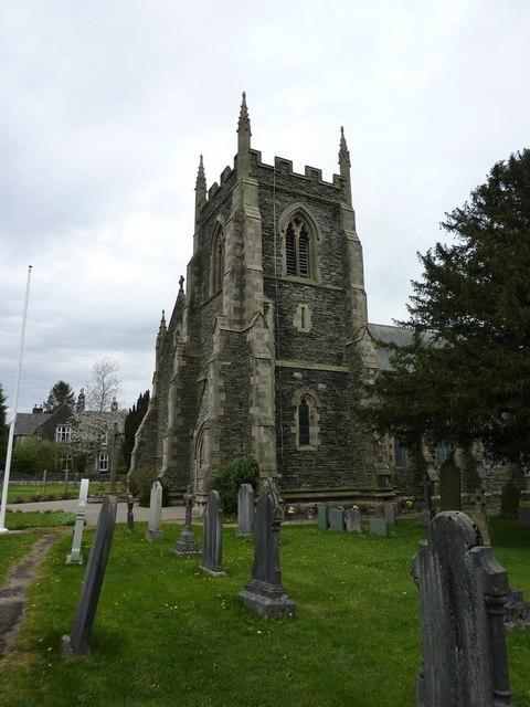 St Oswald's Church, Burneside, Tower