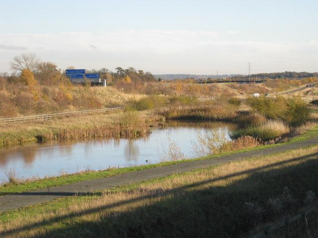 Lakeside, M6 Toll near Wishaw