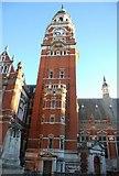 TQ3265 : Clock Tower, Municipal buildings, Croydon by N Chadwick
