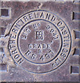 J3372 : Manhole cover, Belfast by Rossographer