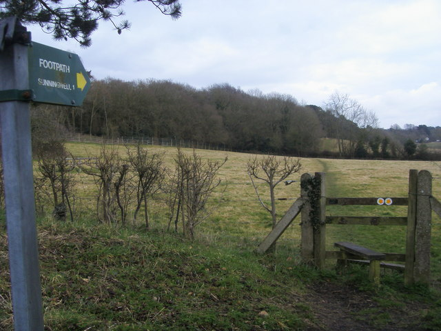 Footpath to Sunningwell