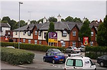 SJ4068 : The Premier Travel Inn on Mill Lane by Steve Daniels