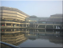 TQ1977 : The National Archives on a misty November morning by Christopher Hilton
