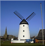 SD3727 : Storm Damaged Windmill by Robert Wade