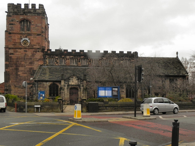 St Mary's Church Cheadle