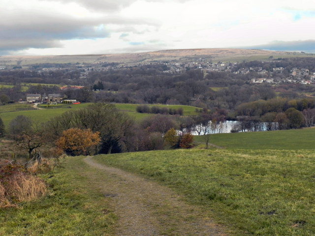 View towards Gleaves Reservoir And Egerton