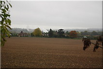 TQ5959 : Fallow field south of Pilgrims' Way by N Chadwick
