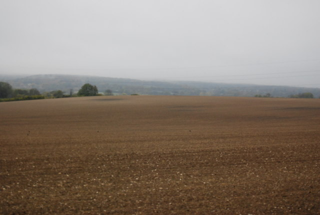 A very large fallow field