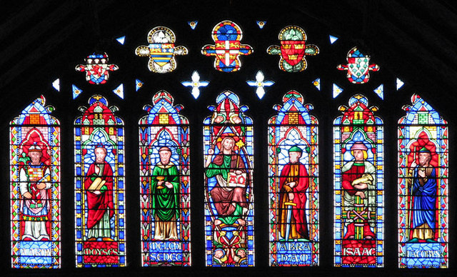 Ely Cathedral South Transept Window 169 Evelyn Simak