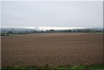TQ5959 : Large fallow field south of the Pilgrims' Way by N Chadwick