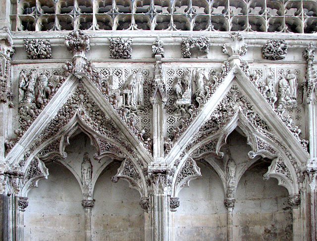 Ely Cathedral - the Lady Chapel (detail)