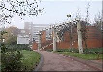 TQ2473 : Southfields Library by Derek Harper