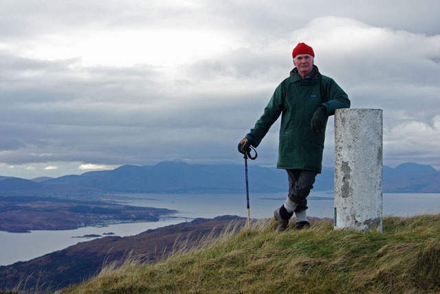 Summit of Auchtertyre Hill