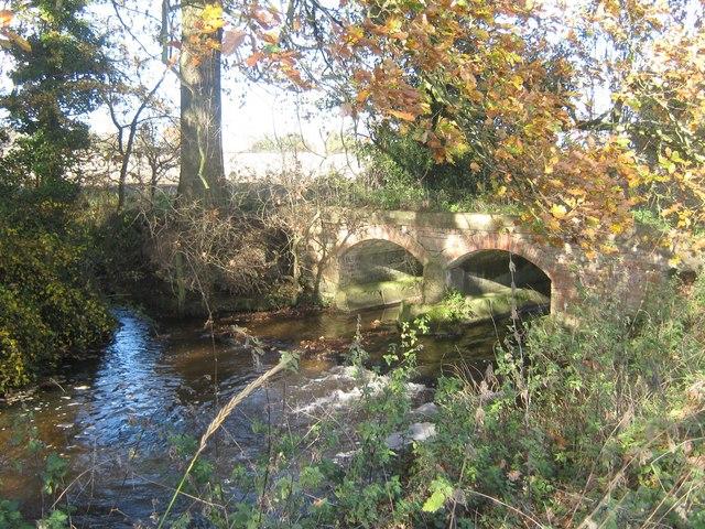 Shirley Brook near Hollington, Derbyshire