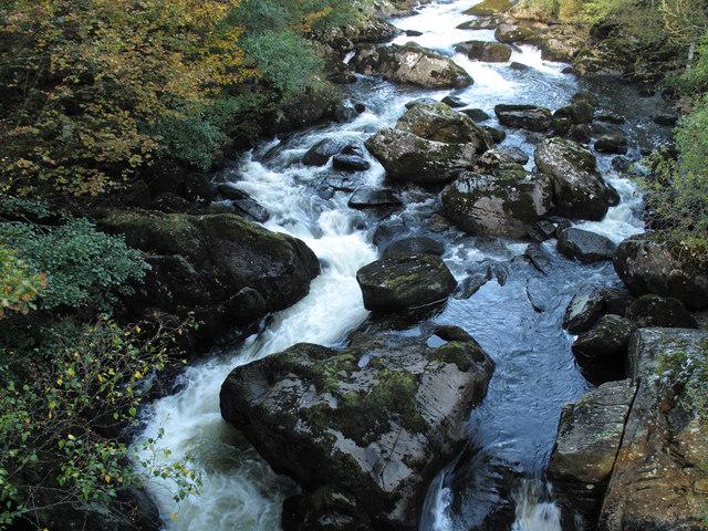 Afon Llugwy at Pont Cyfyng