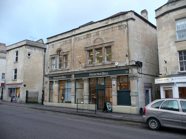 Farrow and Ball, Walcot Street, Bath © Humphrey Bolton :: Geograph Britain and Ireland