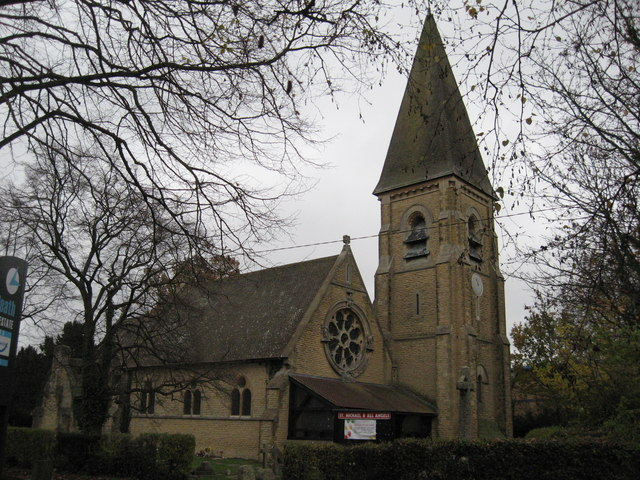 St Michael and All Angels Church, Lowfield Heath, West Sussex