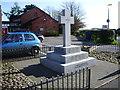 NY3868 : War Memorial, Longtown by Alexander P Kapp