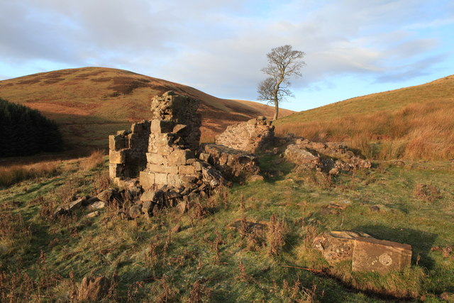 Ruined Kirkton Cottage