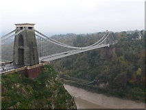 ST5673 : Clifton Suspension Bridge by Eirian Evans