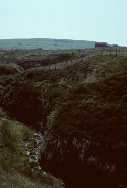 Moss Barn ruins