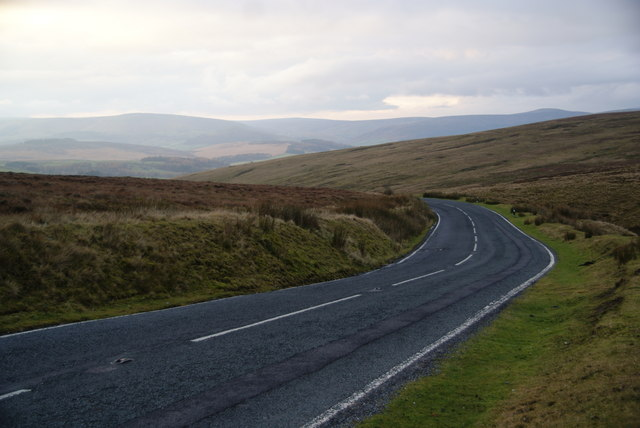 The road to the Forest of Bowland