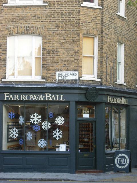 Farrow & Ball, Islington © Stephen McKay :: Geograph Britain and Ireland