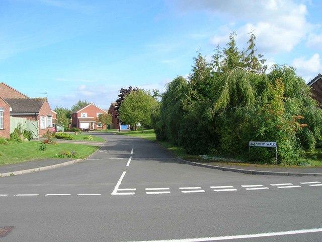 Blenheim Walk, Dovehouse Estate