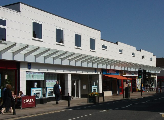 Row of shops, 17-27 Warwick Road, Kenilworth