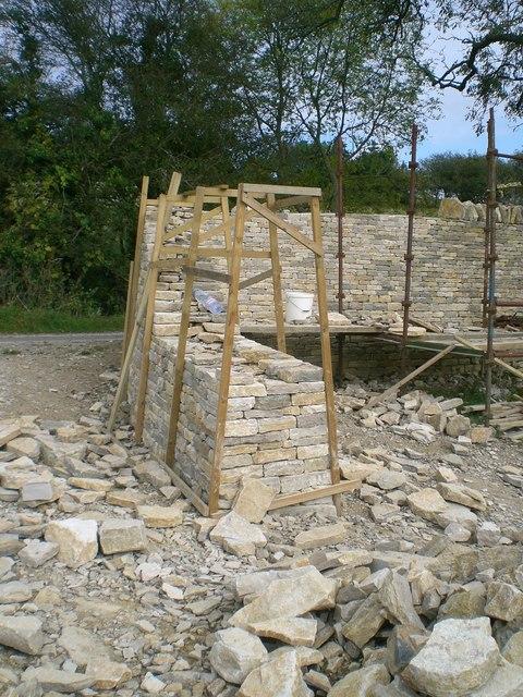 Building A Dry Stone Wall Dorset 2009 C Stefan