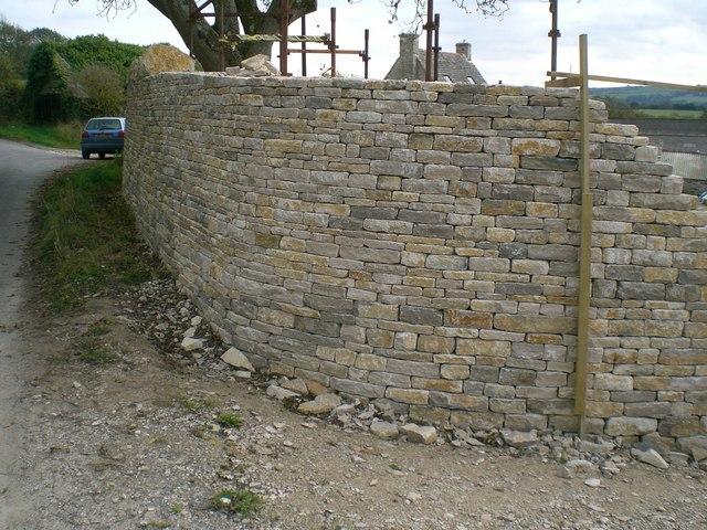 Building A Dry Stone Wall Dorset 2009 169 Stefan