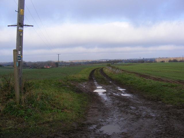 Green Lane Footpath to Sandy Lane