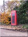 TM2952 : Ufford Telephone Box by Adrian Cable