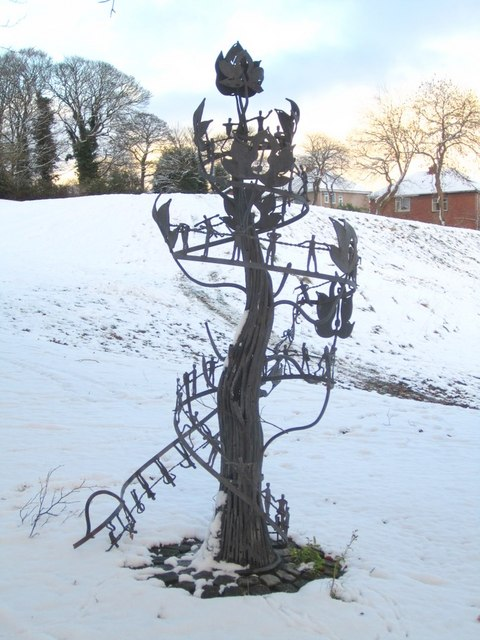 'Sapling' by William Pym, Hodgkin Park