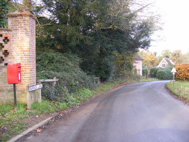 Barrack Lane & Barrack Lane Postbox
