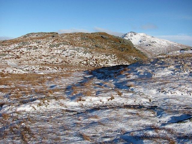 North ridge of Ben Donich