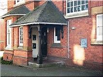 SP2871 : Porch detail, Wilton House, Southbank Road by John Brightley