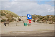 TQ9618 : Zone G, Camber Sands by N Chadwick