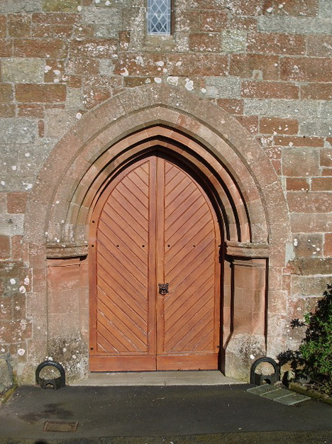 The Parish Church of St Michael & All Angels, Arthuret, Doorway