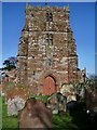 NY3767 : The Parish Church of St Michael & All Angels, Arthuret, Tower by Alexander P Kapp