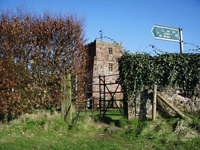 The Parish Church of St Michael & All Angels, Arthuret, Gate
