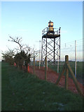TQ8789 : Southend Airport Beacon by terry joyce