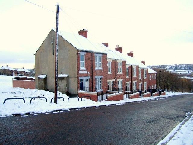 Terraced houses, South Benwell Road