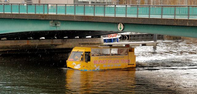Amphibious bus, Belfast (12)