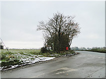 TM2573 : Junction of the B1117 with Russel's Green Road by Adrian S Pye
