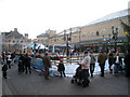TQ8109 : Ice skating at Queen's Square by Oast House Archive