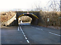 SD7212 : Railway Bridge, Bromley Cross by David Dixon