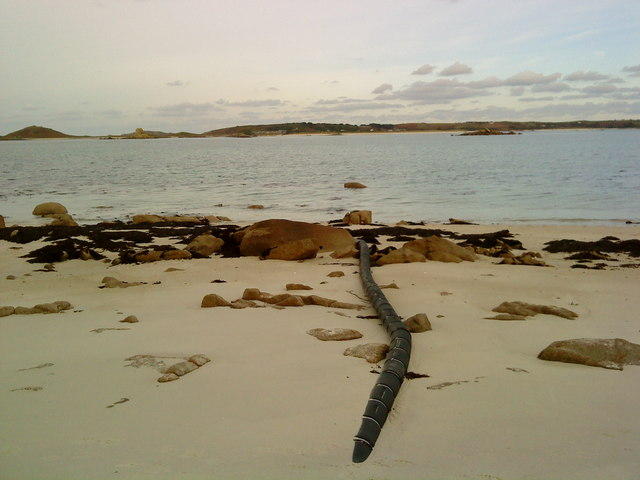 Undersea cable to St. Martin's