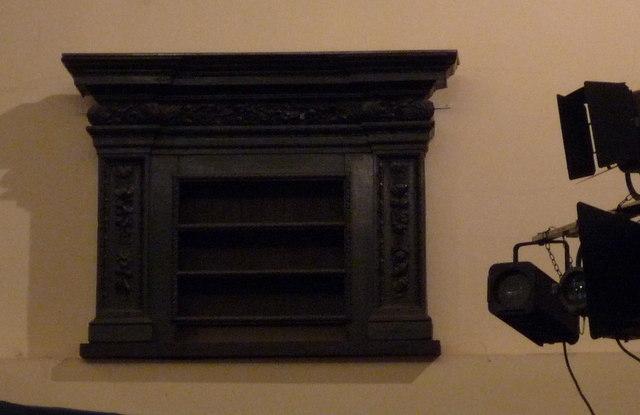 St Clement Eastcheap - dole shelves